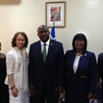 Norfolk State University delegation visits the Ministry of Foreign Affairs with Minister Ngafuan and Ambassador Sylvester Grigsby