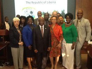 Vice President Boakai Visits Atlanta